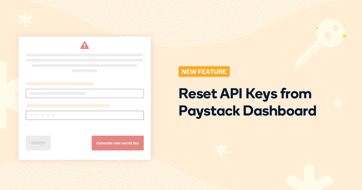 Reset API keys Blogpost image