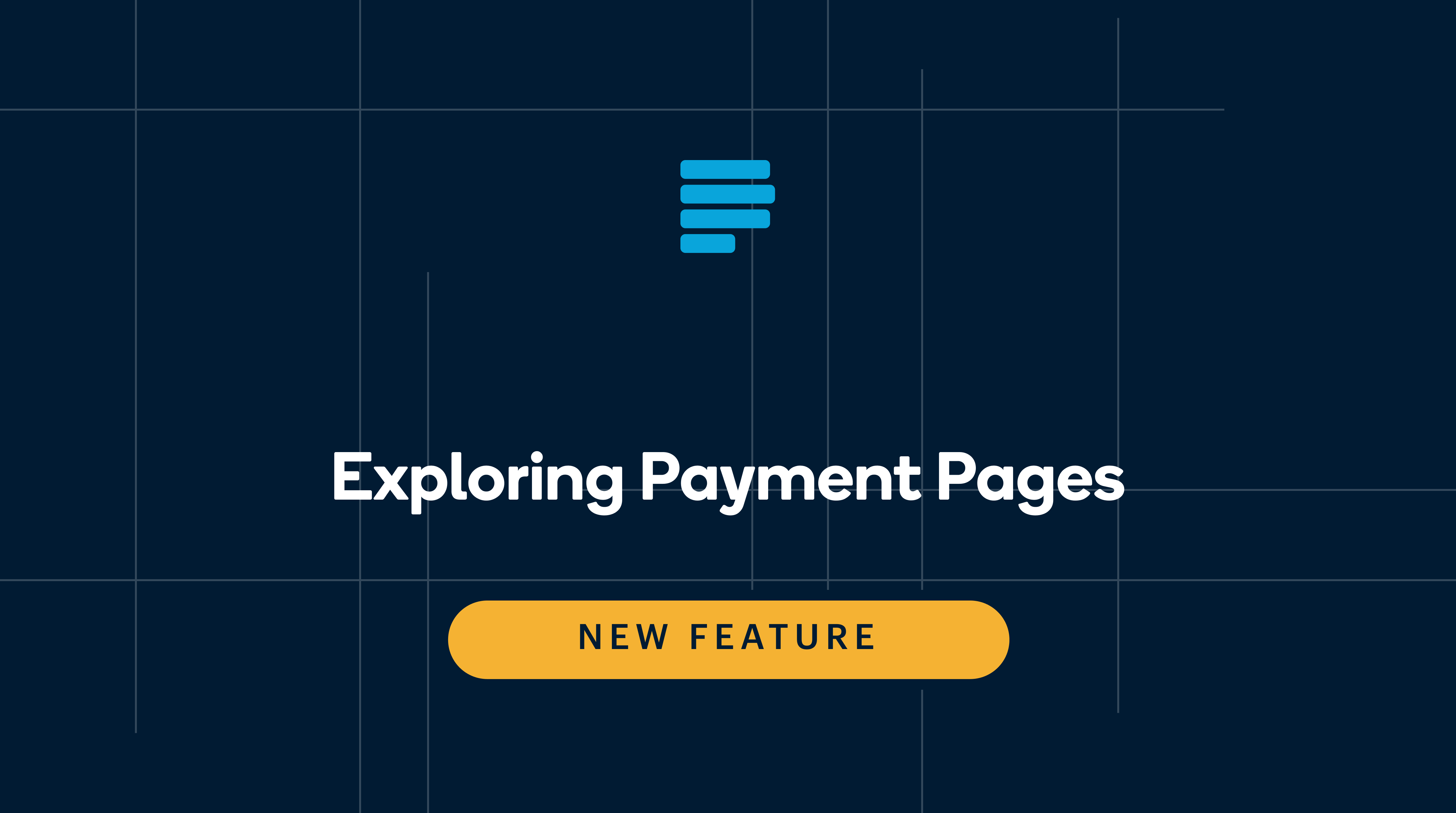 Exploring Payment Pages