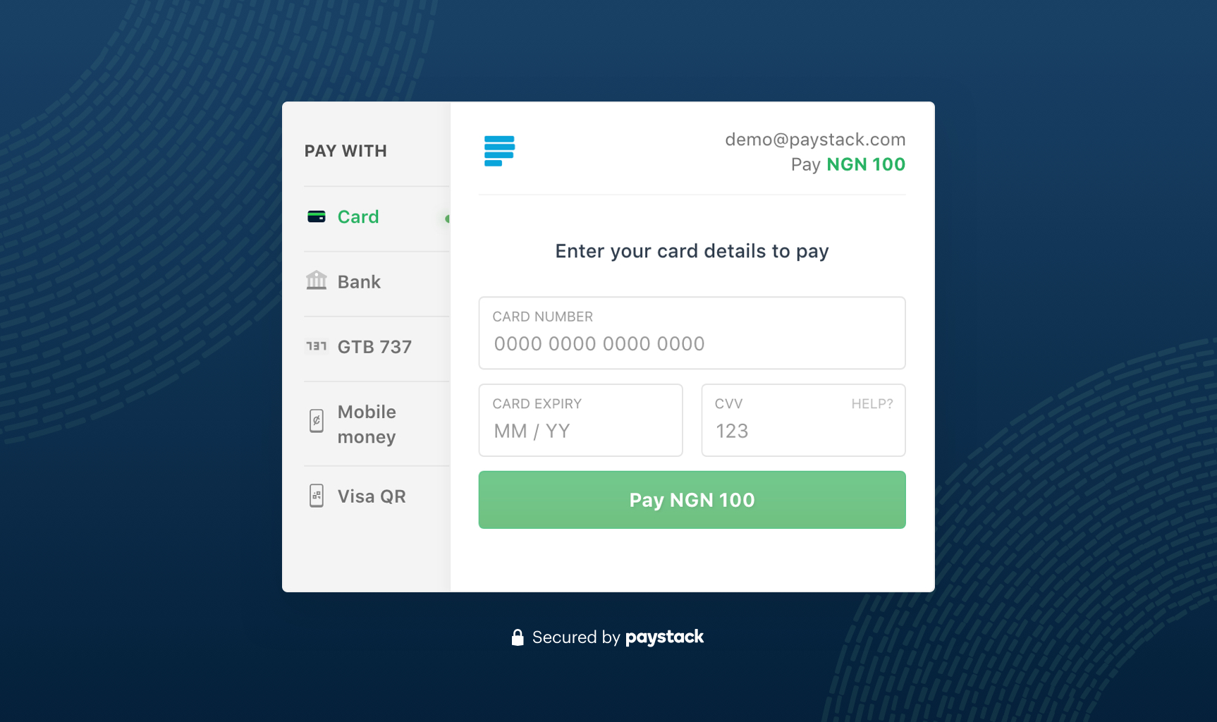 The New Paystack Checkout Form