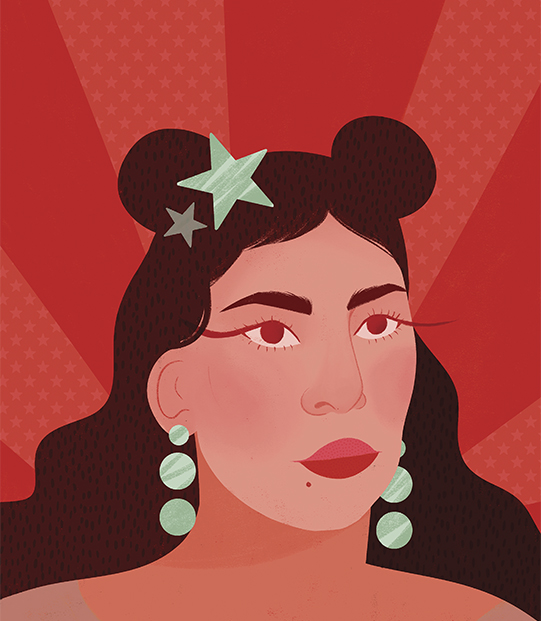 Social justice message in illustrations of Maïa Faddoul