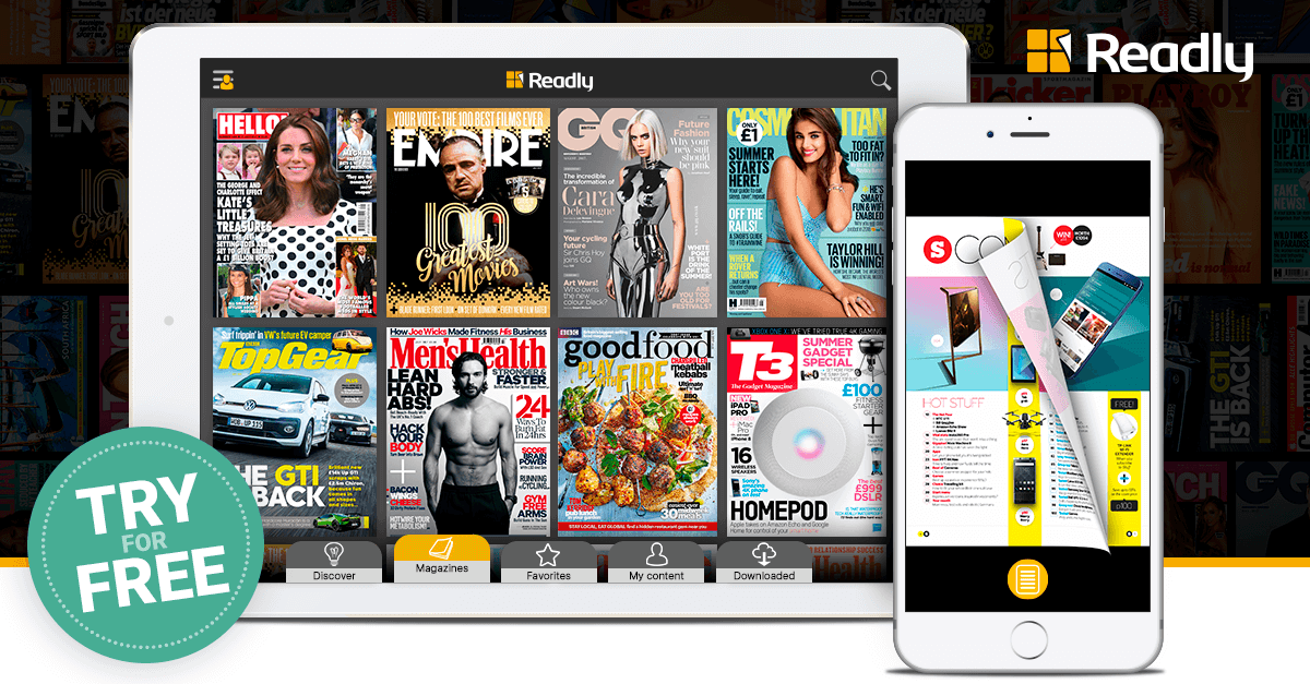 Read Unlimited Digital Magazines