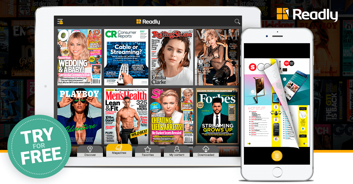 Readly – Read Unlimited Digital Magazines