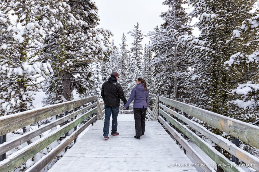 4 Romantic Winter Getaways in Alberta