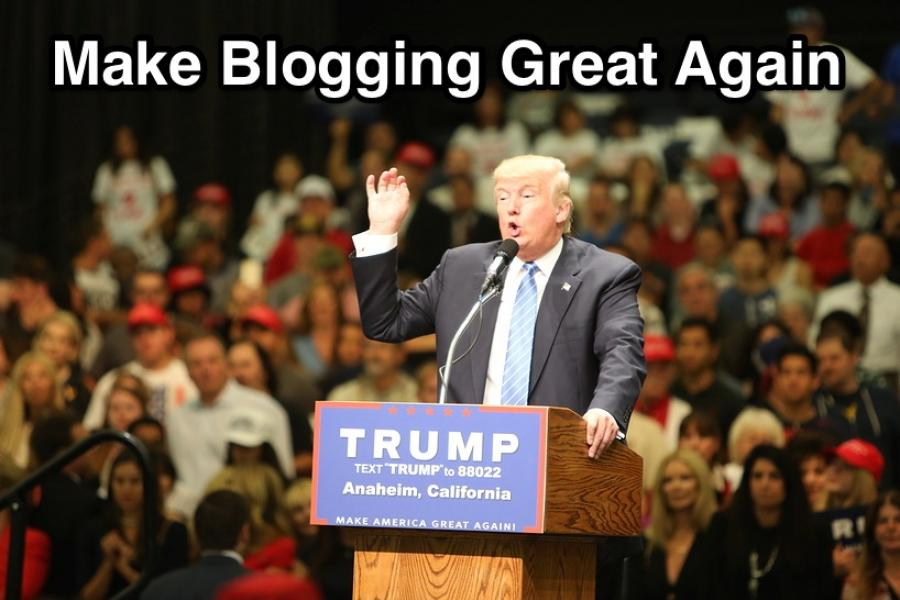 5 Ways to Make Blogging Great Again in 2017