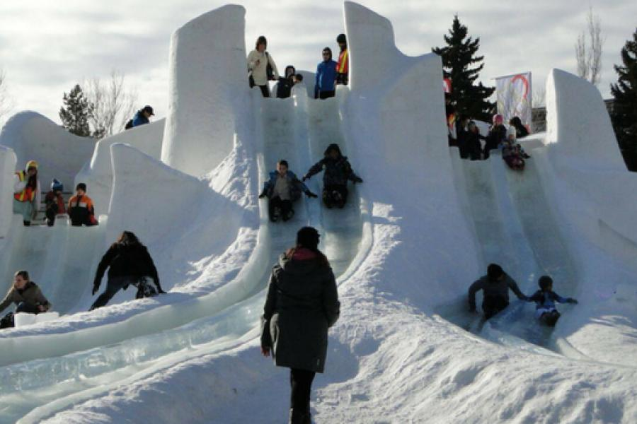 6 activities that kids can experience at Ice on Whyte