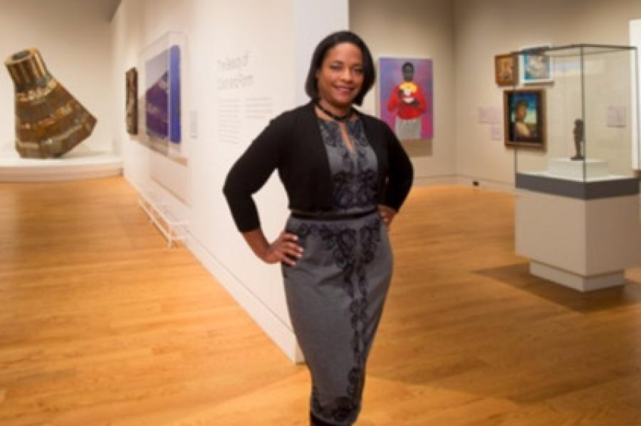 An Illustrated History: Terp Curates Art Gallery at African-American Museum