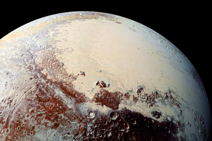 Astrobiology Top 10: Scientists Probe Mystery of Pluto`s Icy Heart