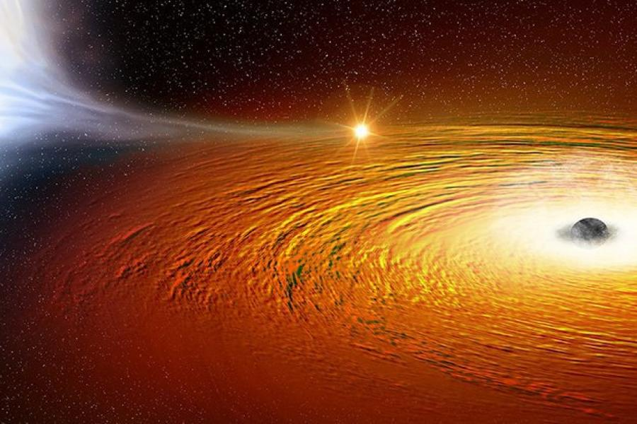 Astronomers Just Found a Star Orbiting a Black Hole at 1 Percent...