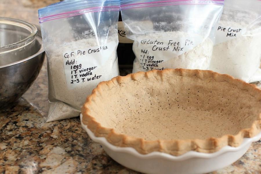 Big Batch Gluten Free Pie Crust Mix | Kitchen Frau