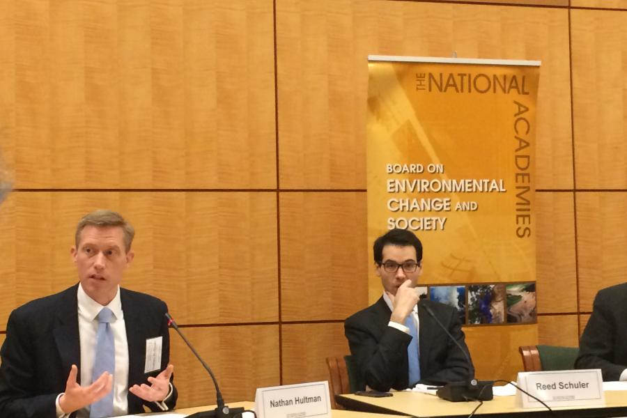 CGS Experts featured at National Academy of Sciences Seminar on Climate Implementation