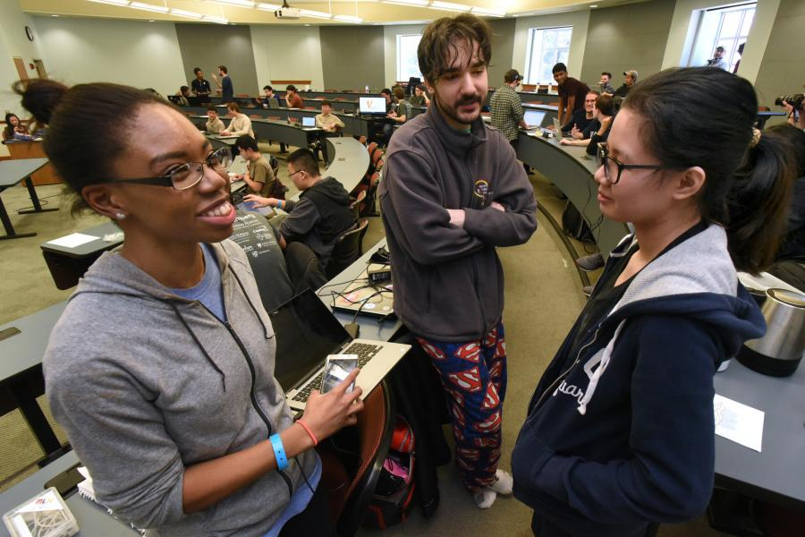 Baltimore Sun: College Students Show Off Power, Creativity of Software Systems at Hopkins Hackathon