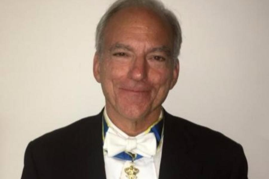 Distinguished University Professor Appointed to Swedish Knighthood
