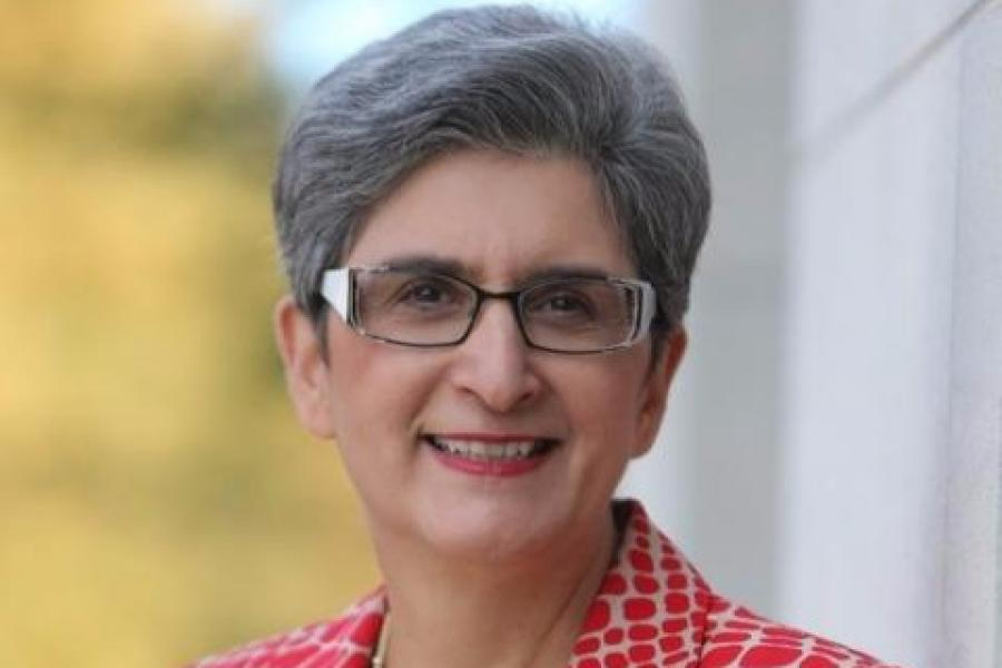 Bahá'í Chair Mahmoudi Wins Honors College Outstanding Faculty Award