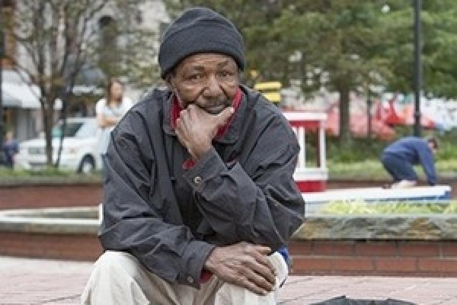 Dr. Moser Jones Explores Race, Discrimination and Homelessness Connection