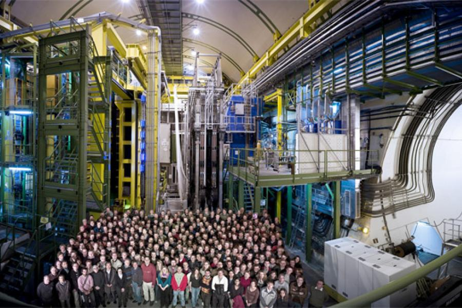 Experiments at the LHC are once again recording collisions at extraordinary energies