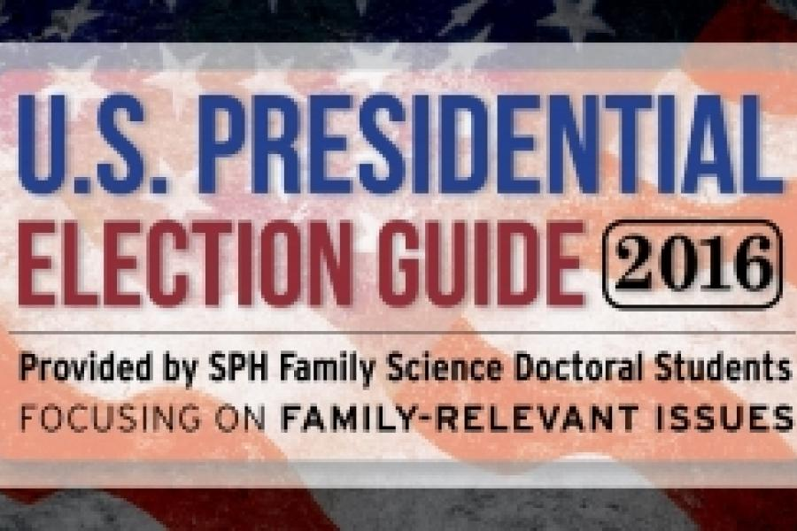 Family Science Doctoral Students Publish Presidential Election Guide