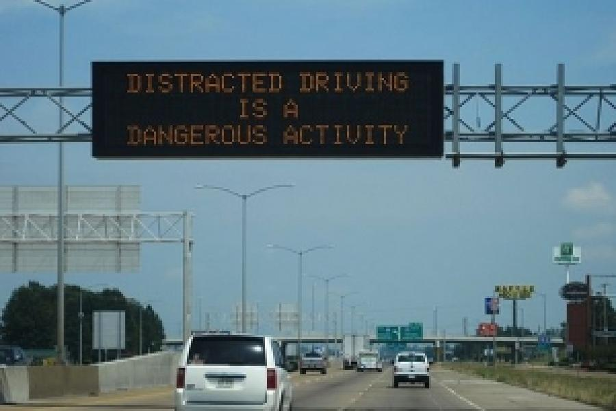 Fighting Distracted Driving Through Education, Technology and Policy