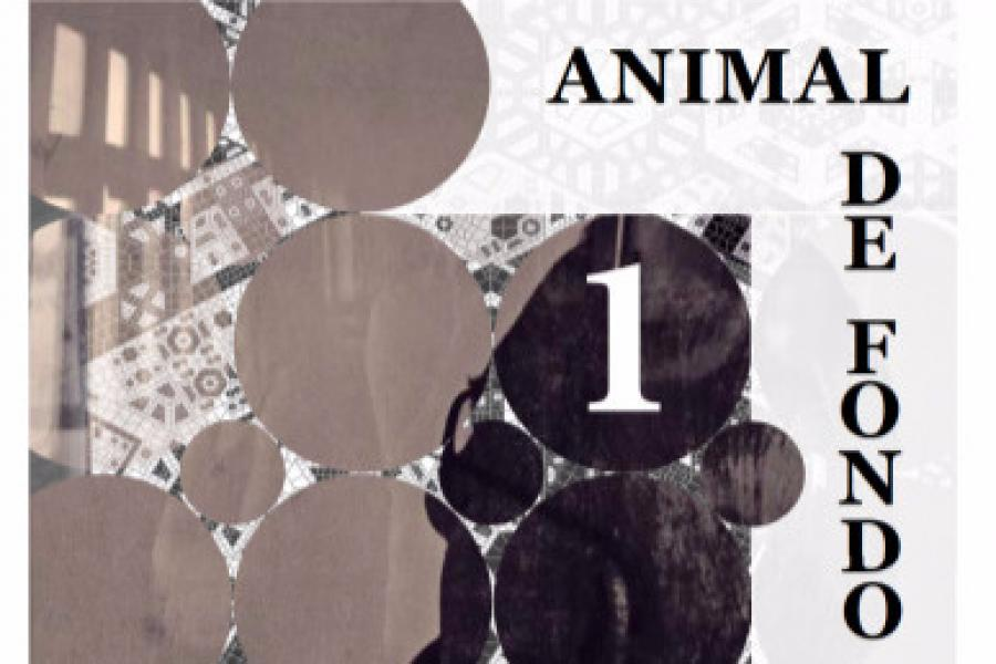 First Edition of Animal de Fondo