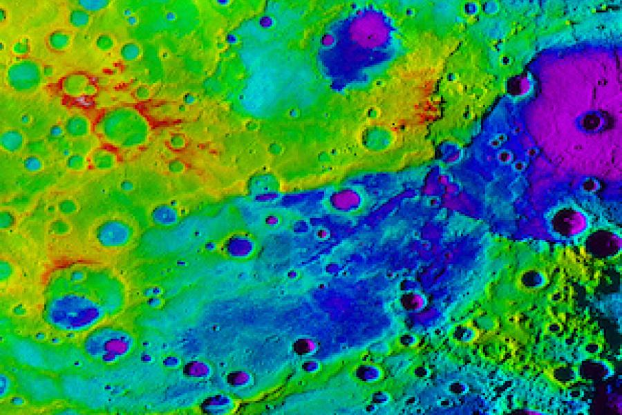 "Giant ""Great Valley"" Found on Mercury"