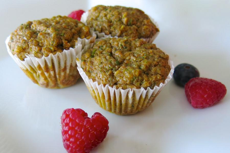 Gramsy's Veggie Muffins: Build Strong Minds and Bodies!