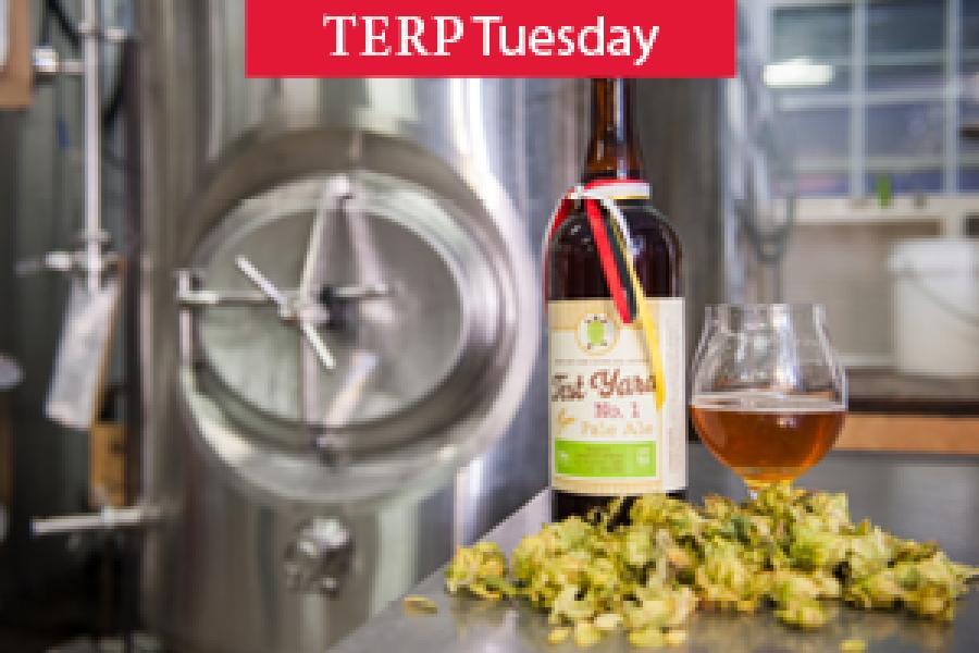 Hoppy New Harvest:UMD Puts the Flavor in Alum Brewer's New Beer