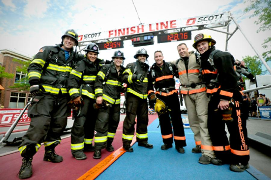 Hot Times at Firefighting Competition: Terp Founded Fitness Contest That`s Gone Global