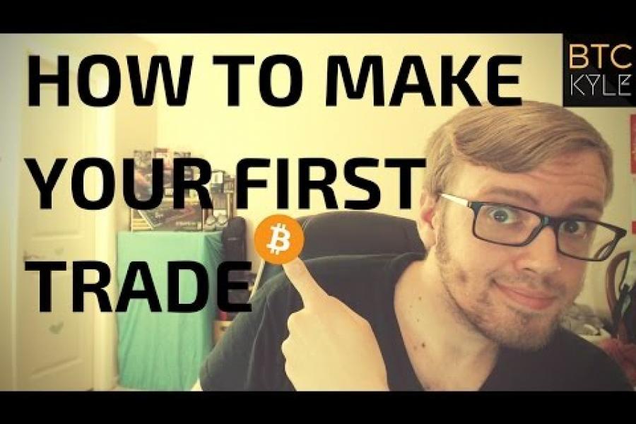 How to trade Bitcoin & Altcoins - Beginner Level