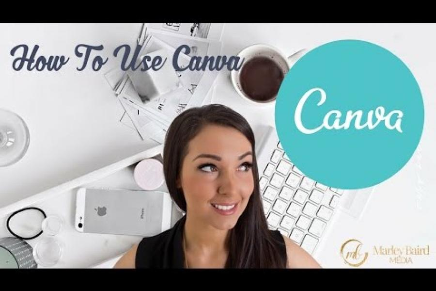 How To Use Canva - Tutorial!