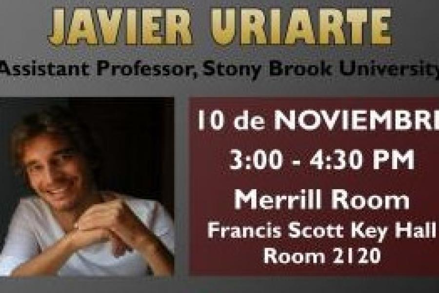 "Nov. 10: Lecture and ""Tricks of the Trade"" with Javier Uriarte"