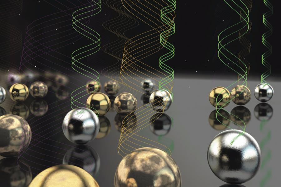 Leite Nanophotonics Research Featured on Advanced Optical Materials Cover