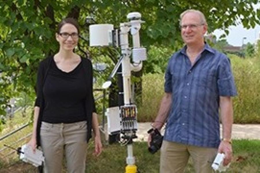 Lichtenberg, Saavoss, and Majsztrik Receive Award forIrrigation Efficiency Research