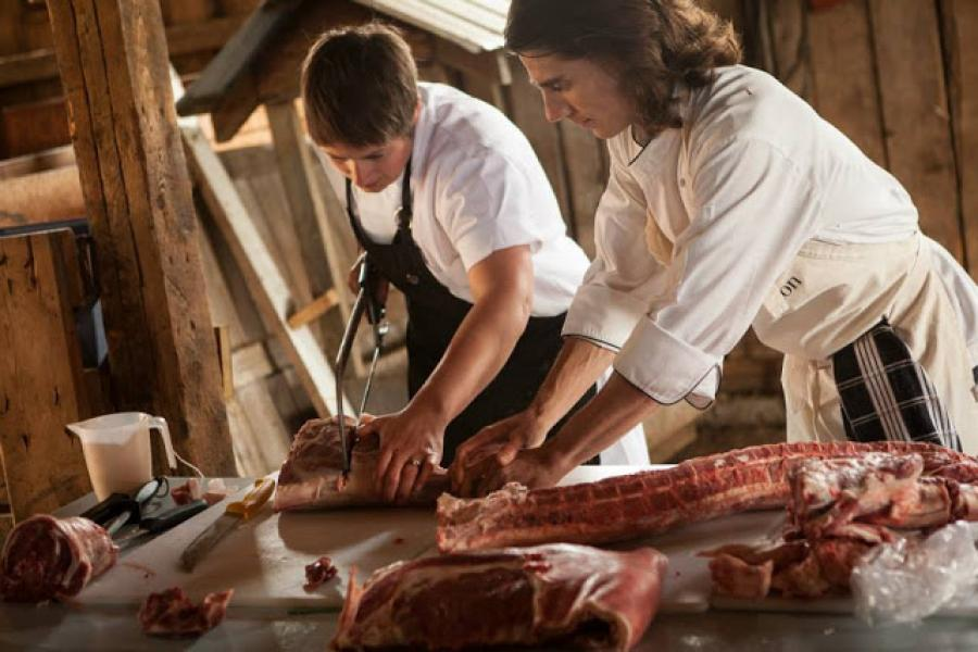 Life Without Lemons: PORK BUTCHERY FOR SLOW FOOD EDMONTON