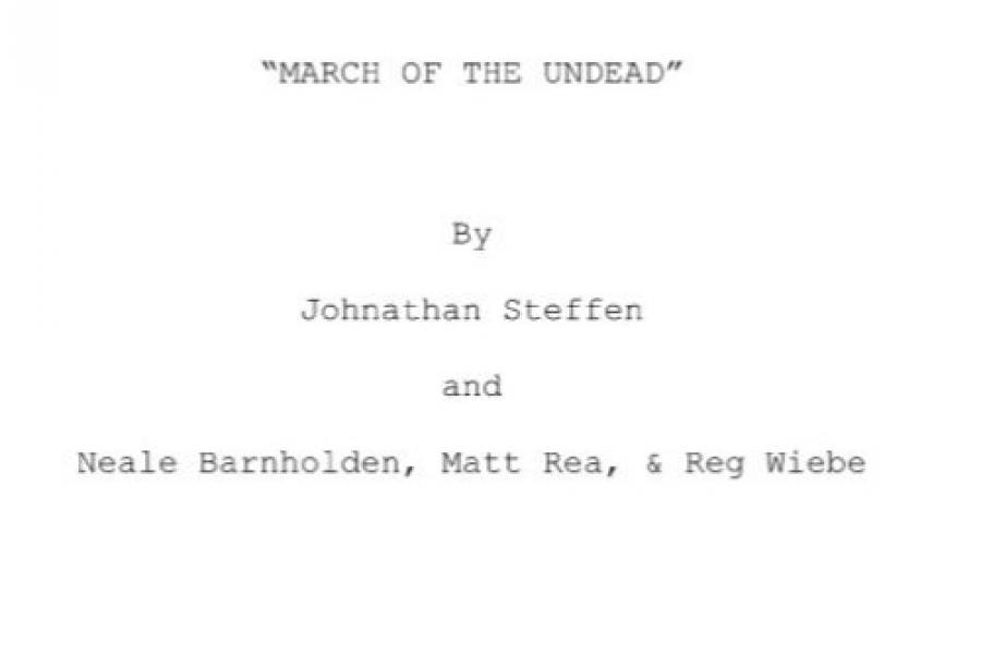 MARCH OF THE UNDEAD by Plot Device