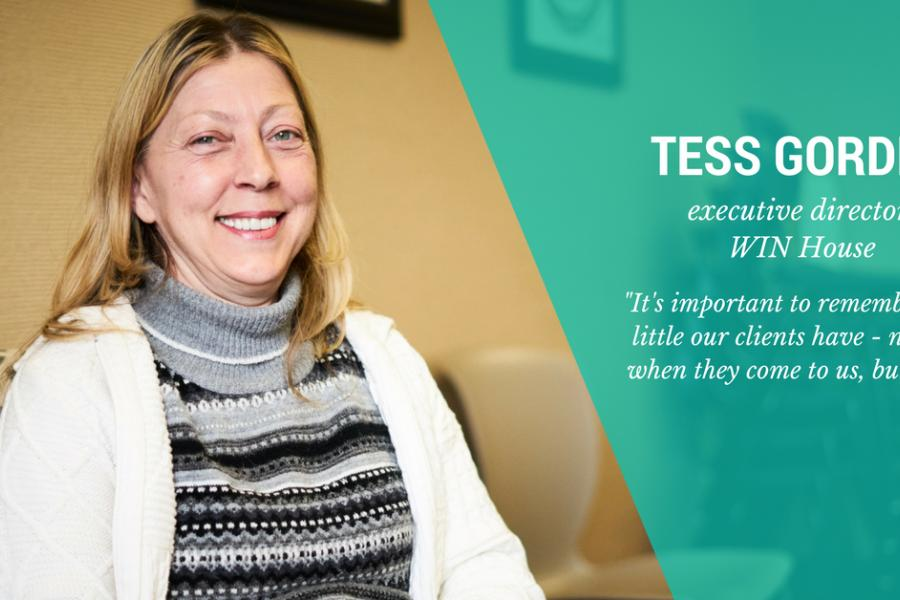 Meet Tess Gordey, Executive Director of WIN House