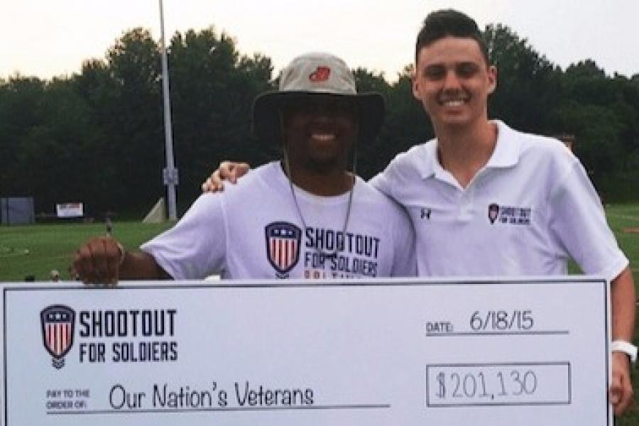 Merrill Student Kaminski Helps Raise Funds for Veterans Charities