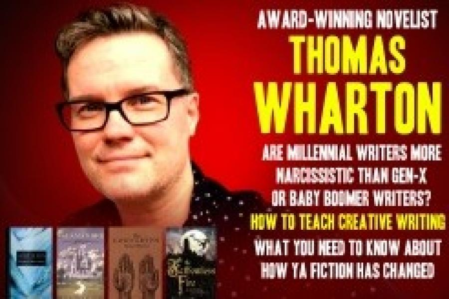 MF GALAXY: NOVELIST THOMAS WHARTON - ARE MILLENNIAL WRITERS MORE...