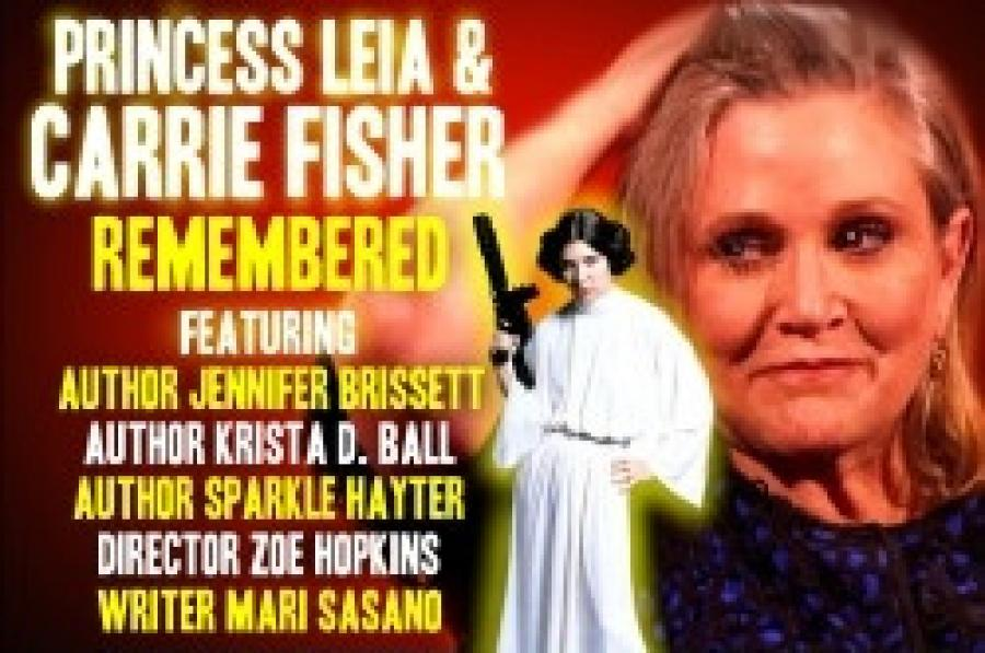 MF GALAXY: PRINCESS LEIA + CARRIE FISHER REMEMBERED (MF GALAXY...