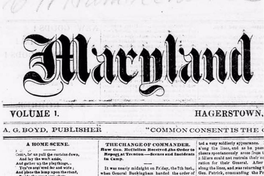 NEH Grants UMD Libraries $250K to Digitize Historic Newspapers