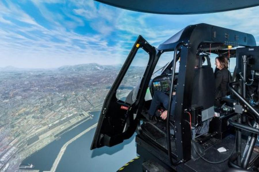 New Thales helicopter simulator receives highest-level certification