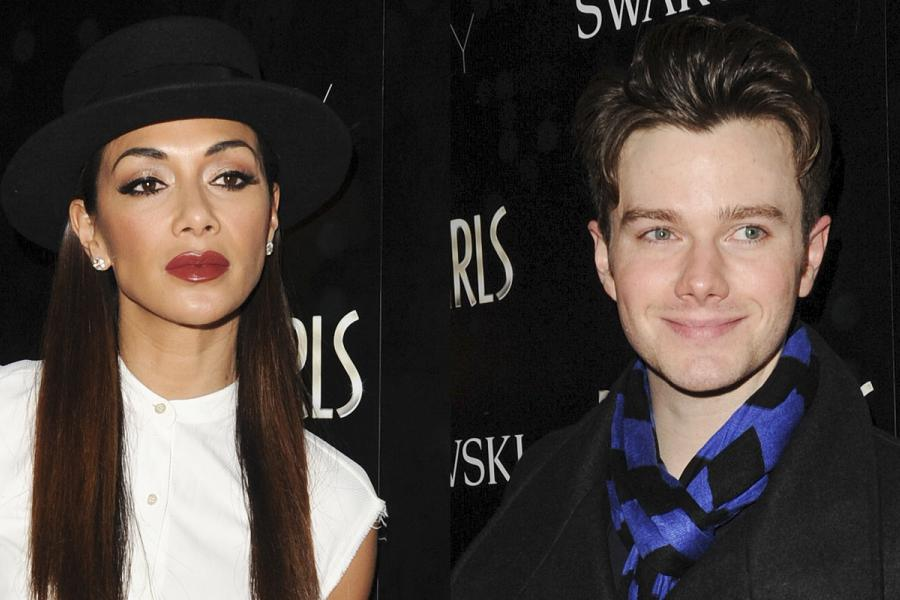 Nicole Scherzinger & Chris Colfer Attend Dreamgirls