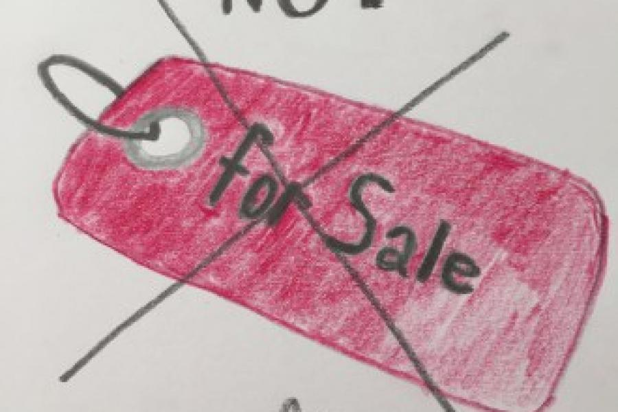 Not selling is the new selling