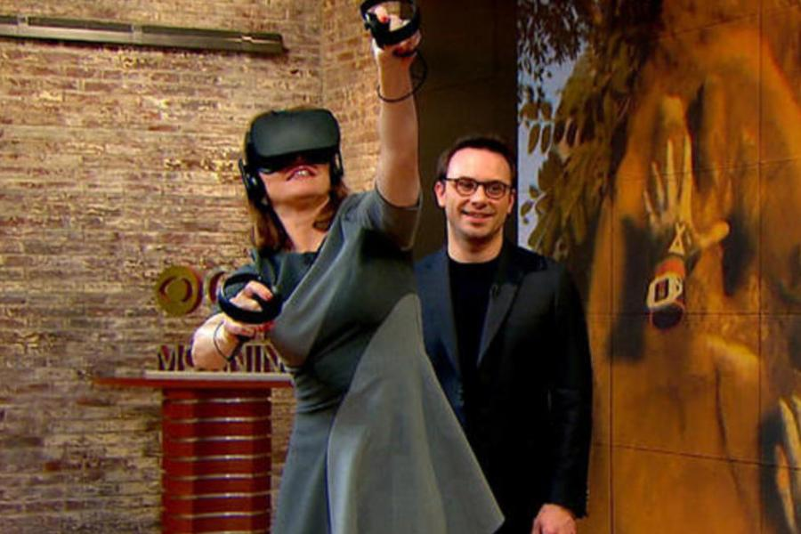 CBS News: Oculus Touch Brings Your Hands Into Virtual Reality