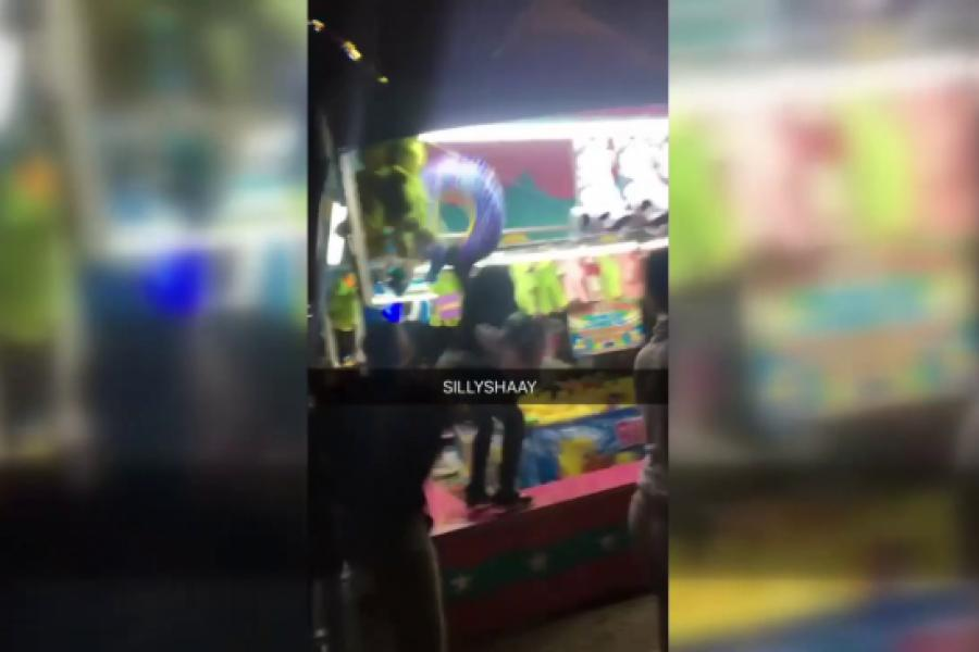 ONLY on 4: Chaos at Oakland carnival caught on camera