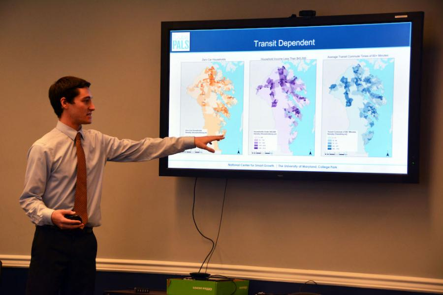 PALS Program Shares First Semester Project Results with City of Annapolis, Anne Arundel County