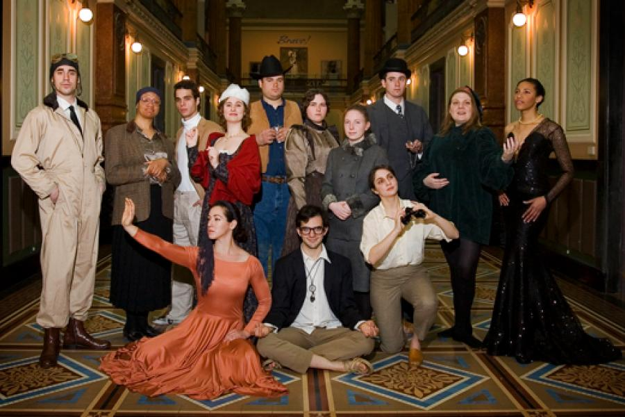 Picture-Perfect Portrayals: UMD Theatre Students Create Living Portraits at Smithsonian