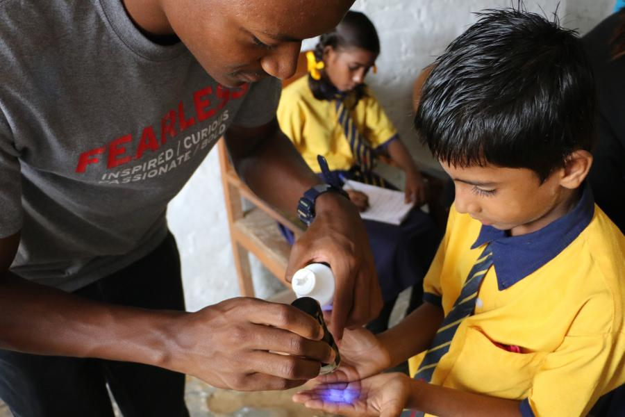 Public Health Without Borders Serves Local Schools in Sierra Leone & India