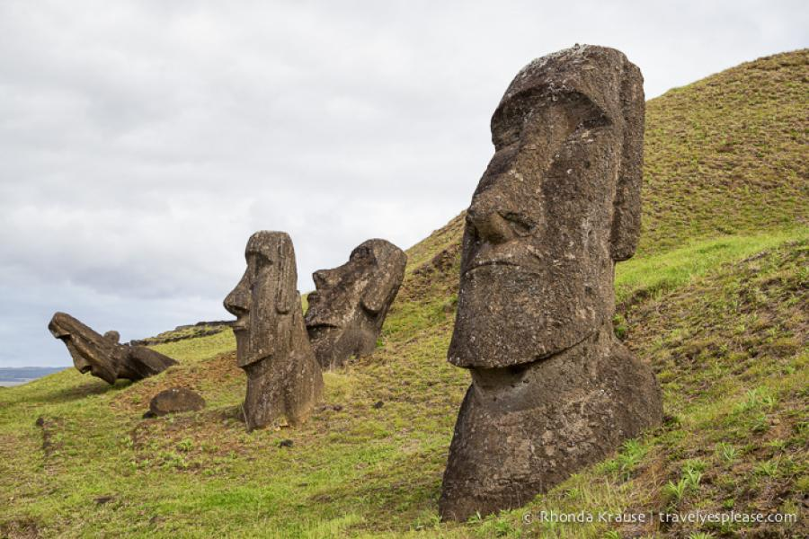 Rano Raraku- Carving Site of Easter Island's Moai | Travel? Yes...