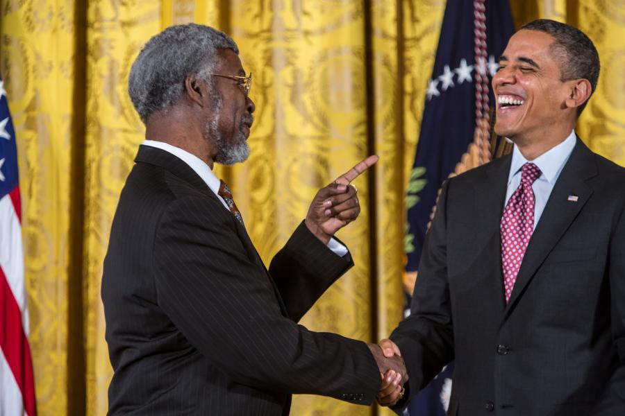 S. James Gates Is Known for Work on Supersymmetry - and Pormoting STEM Education