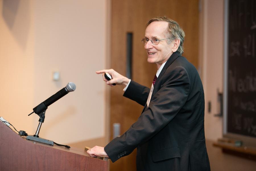 Scholars and Industry Leaders Honor Albert `Pete` Kyle