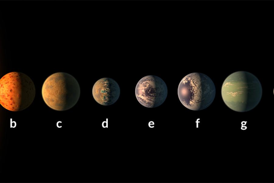 Science News: CMNS's Deming Discusses Potentially Habitable Planets in TRAPPIST-1 System